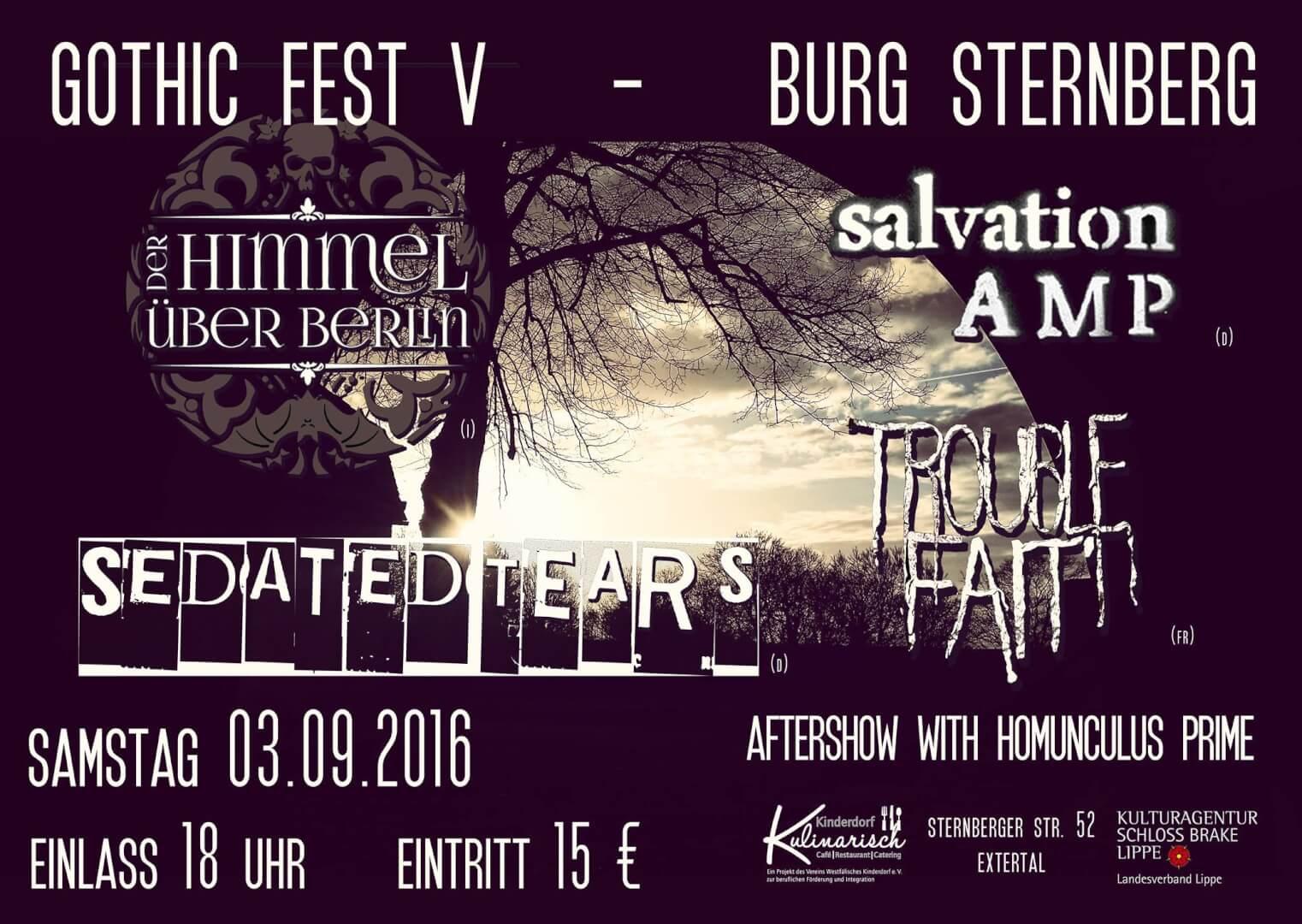 Gothic Fest V - Burg Sternberg