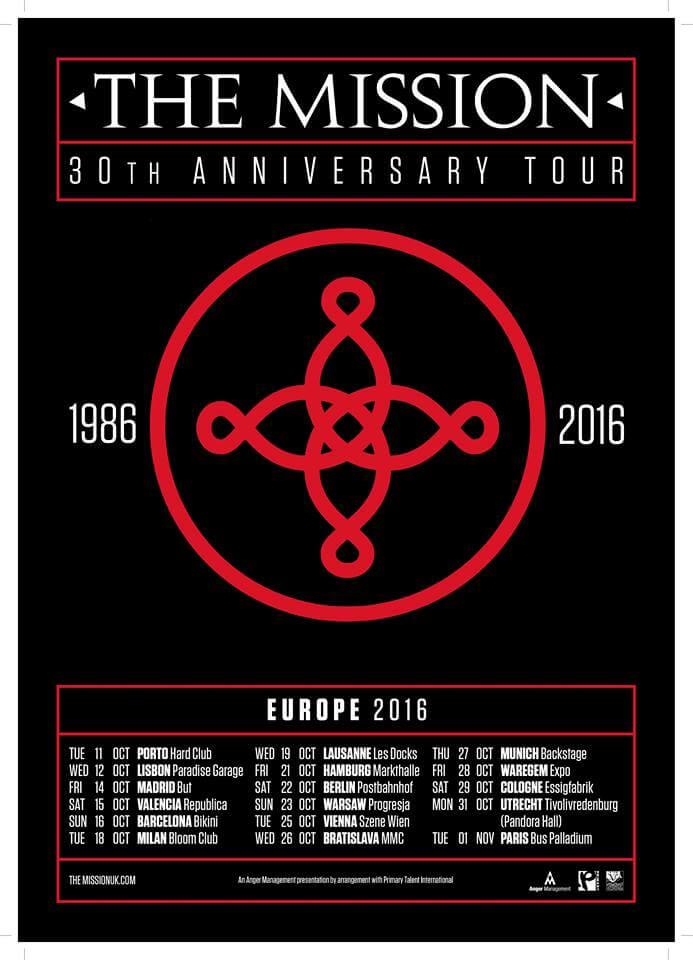The Mission Tour 2016