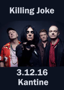 Killing Joke in Köln 2016