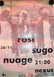 ROSI / SUGO Nuage & Das Bassorchester in Braunschweig 2016