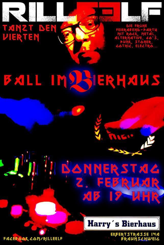 4. Ball im Bierhaus Braunschweig