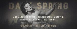 Dark Spring Festival Berlin, 25.03.2017