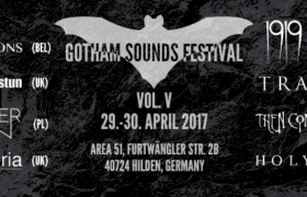 Gotham Sounds Festival in Hilden, 29./30.04.2017