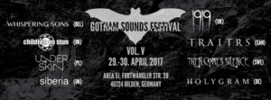 Gotham Sounds Festival in Hilden, 29./30.04.2017
