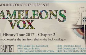 11.05.2017: Chameleons Vox in Hannover