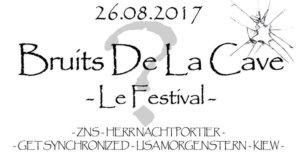 26.08.2017: Bruits de la Cave - le festival - Hannover