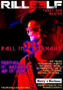 13.10.2017: 8. Ball im Bierhaus Braunschweig