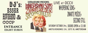 Whispering Sons, Second Still & Zwarte Poëzie in Amsterdam