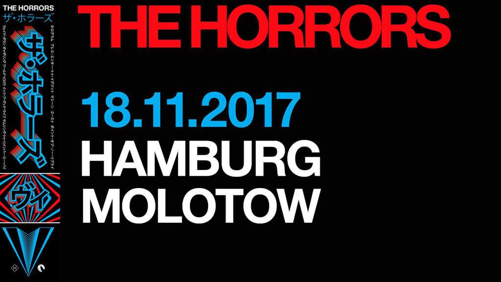 18.11.2017: The Horrors & Mueran Humanos in Hamburg