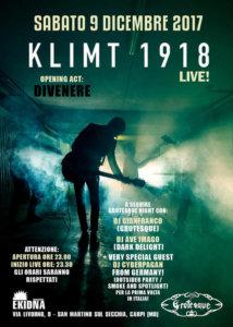 09.12.2017: Grotesque Modena - Live: Klimt 1918 & Divenere
