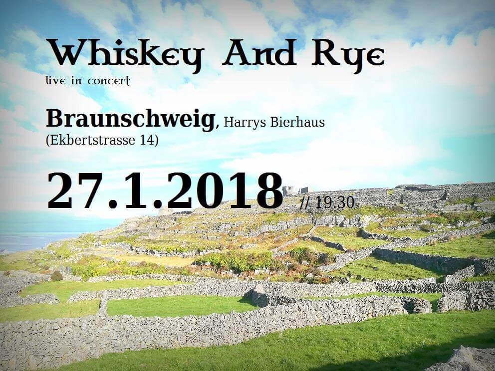 27.10.2018: Whiskey and Ryie in Braunschweig