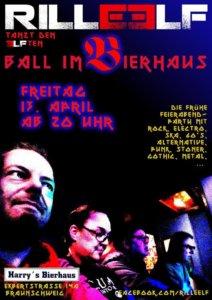 13.04.2018: 11. Ball im Bierhaus Braunschweig