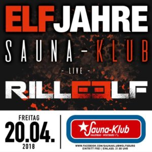 20.04.2018: Elf Jahre Sauna-Klub Wolfsburg