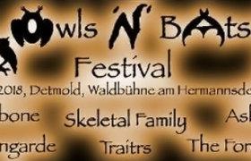 07.07.2018: Owls'n'Bats Festival in Detmold