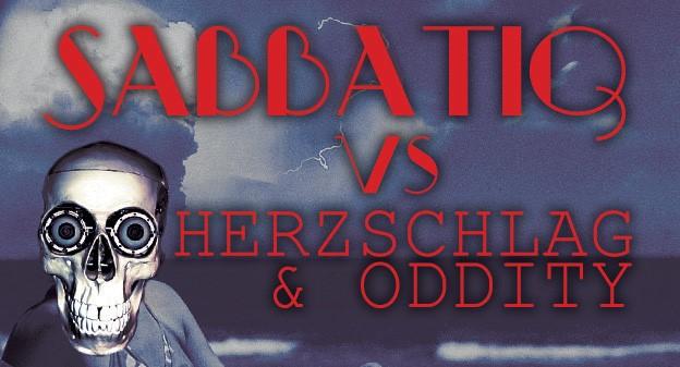 04.08.2018: Sabbatiq vs Herzschlag & Oddity in Berlin