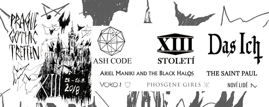 24.-26.08.2018: XIII. Prague Gothic Treffen, Prag