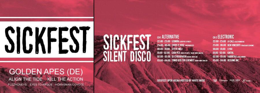 01.09.2018: Sickfest '18 in San Giljan (Malta)