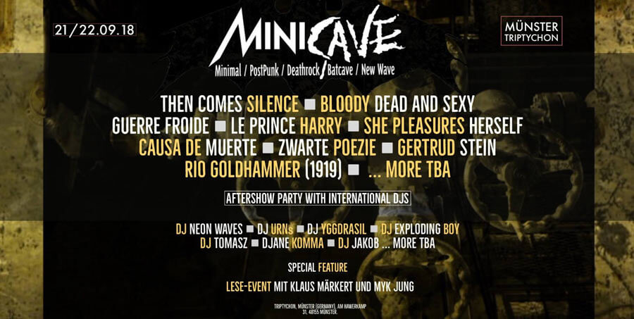 21.-22.09.2018: Minicave Fesival in Münster