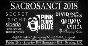 28.-29.09.2018: Sacrosanct in Reading