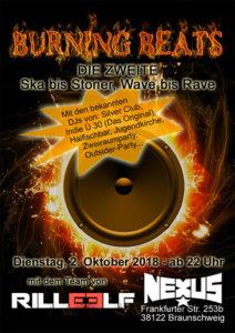 02.10.2018: Burning Beats No.2 in Braunschweig