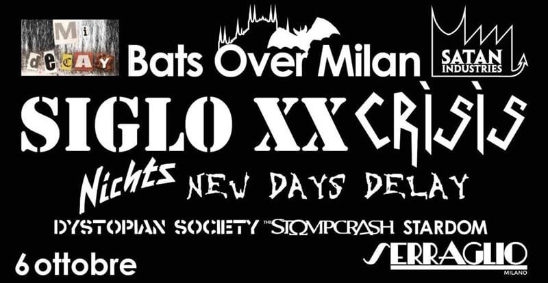 06.10.2018: Bats Over Milan Festival in Mailand