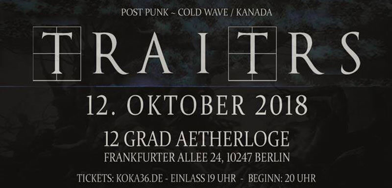 12.10.2018: Traitrs in Berlin