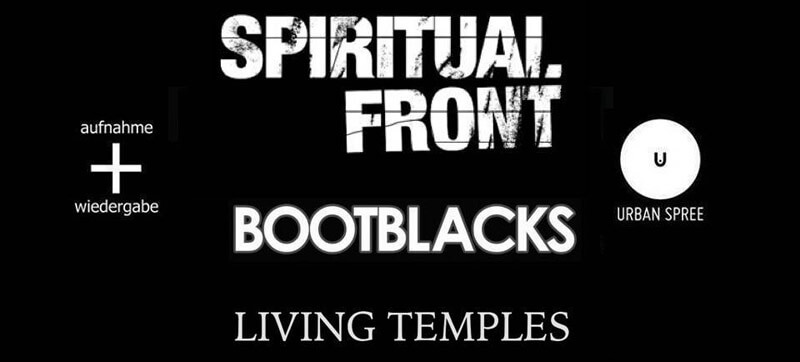 13.10.2018: Spiritual Front & Bootblacks in Berlin
