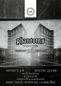 26.10.2018: Phantoms Party in Hannover