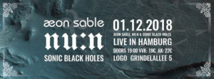 01.12.2018: Aeon Sable in Hamburg