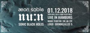 01.12.2018: Aeon Sable in Hamburg