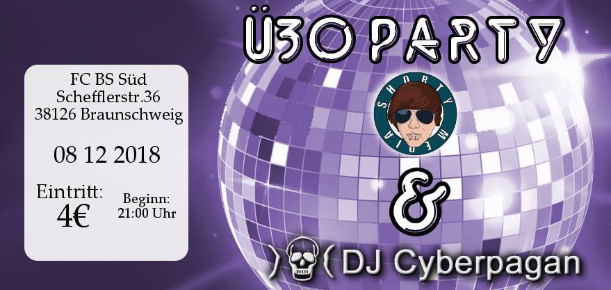 08.12.2018: Ü30-Party in Braunschweig