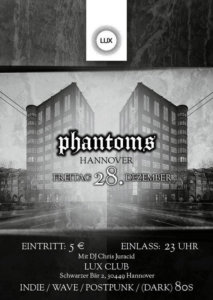 28.12.2018: Phantoms Party in Hannover