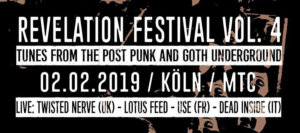 02.02.2019: Revelation Festival Vol. 4 in Köln