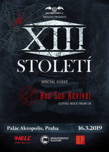 16.03.2019: XII. Století & Red Sun Revival in Prag