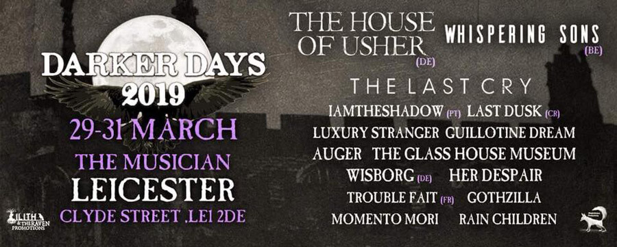 29.-31.03.2019: Darker Days in Leicester