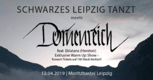 12.04.2019: Schwarzes Leipzig Tanzt meets Dornenreich in Leipzig
