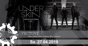 27.04.2019: undertheskin in Berlin
