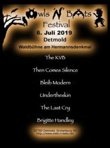 06.07.2019: Owls'n'Bats Festival in Detmold