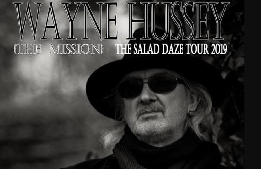 12.09.2019: Wayne Hussey in Hannover