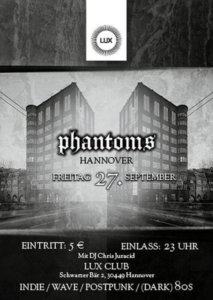27.09.2019: Phantoms Party Hannover