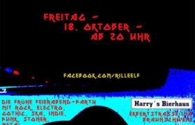18.10.2019: 20. Ball in Harrys Bierhaus Braunschweig