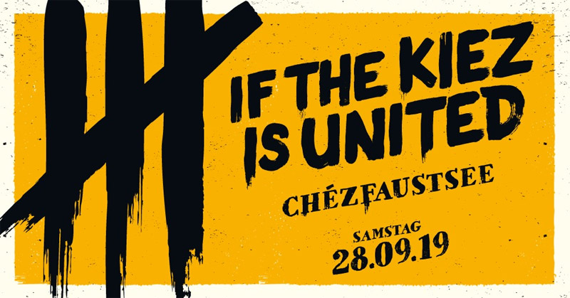 28.09.2019: If the Kiez is United in Hannover