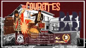 02.10.2019: The Courettes & Pari Pari in Braunschweig