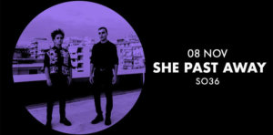 08.11.2019: She Past Away in Berlin