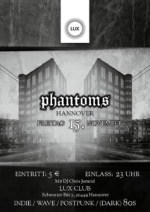 15.11.2019: Phantoms Party in Hannover