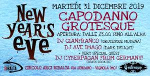 31.12.2019: Capodanno Grotesque in Vignola