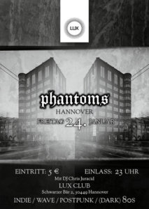 24.01.2020: Phantoms Party in Hannover