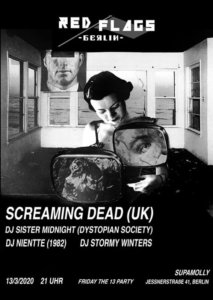 13.03.2020: Screaming Dead in Berlin