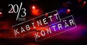 20.03.2020: Messer + Kabinett Konträr in Hannover