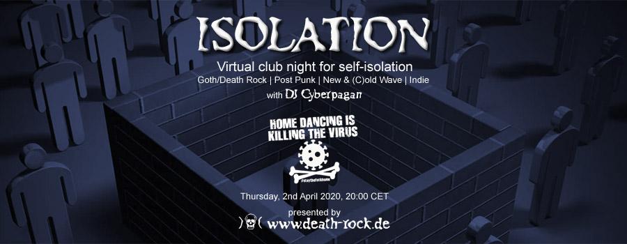 02.04.2020: Isolation #3 Livestream